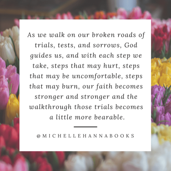 MichelleHannaBookscom Reflections of God's Grace Walking the Broken Road