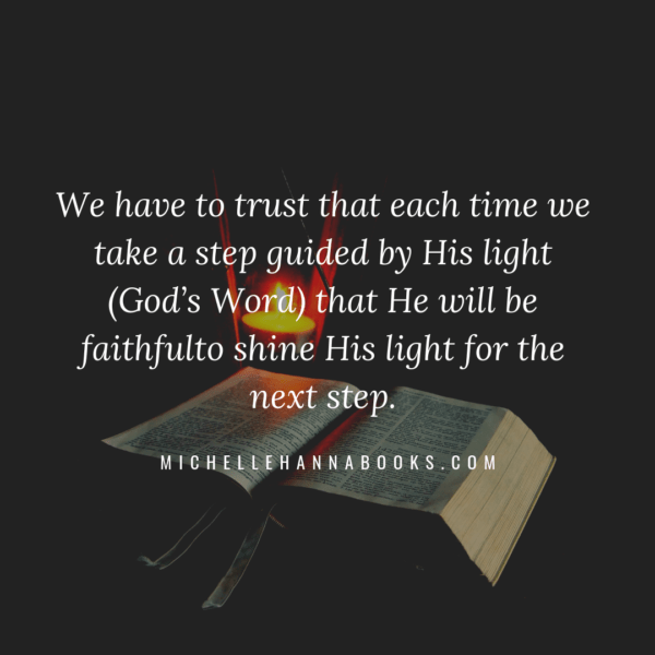 MichelleHannaMinistries.com Quote About Trusting God Psalm 119:115